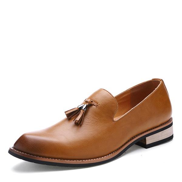 Men's Leatherette Tassel Loafer Casual Dress Shoes Men's Loafers