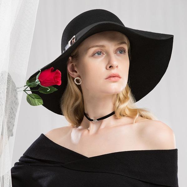 Señoras' Hermoso/Moda/Elegante/Niza Madera Disquete Sombrero