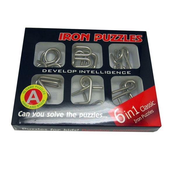 Brain Teaser Puzzle Set