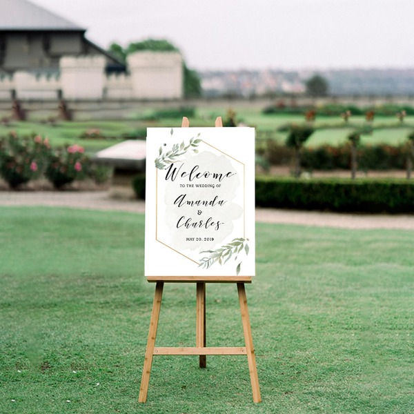 Eenvoudig/Klassiek Aantrekkelijk Zelfklevend papier Wedding Sign