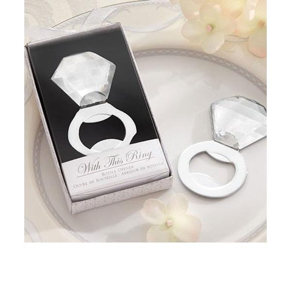 Diamante di cristallo Acciaio inossidabile Apribottiglie