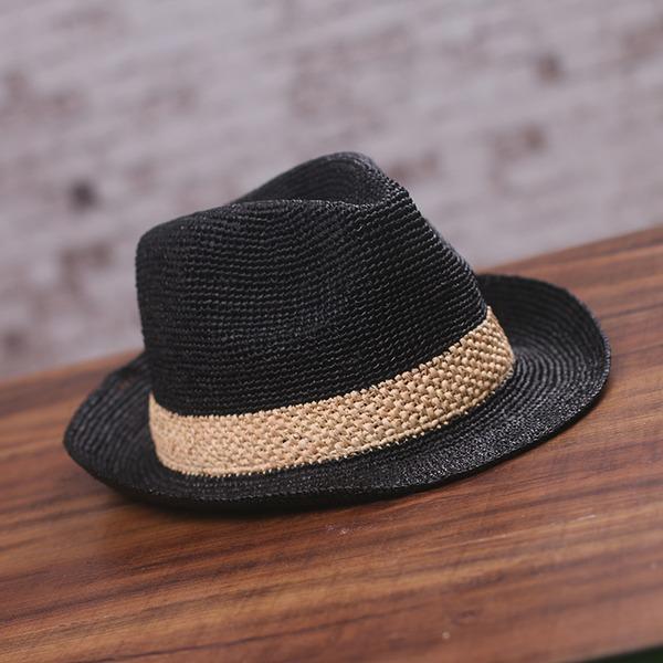 Ladies ' Klasický Rafie slámy Slaměný klobouk