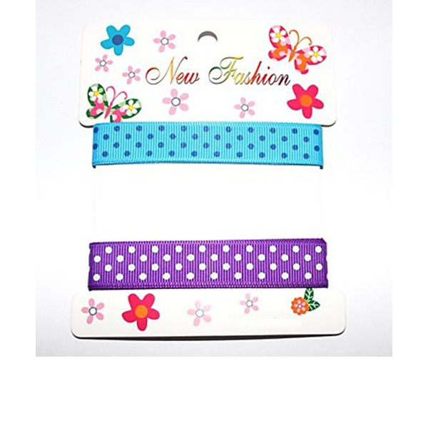 Dot Satin Ribbon(Two Color One Card)