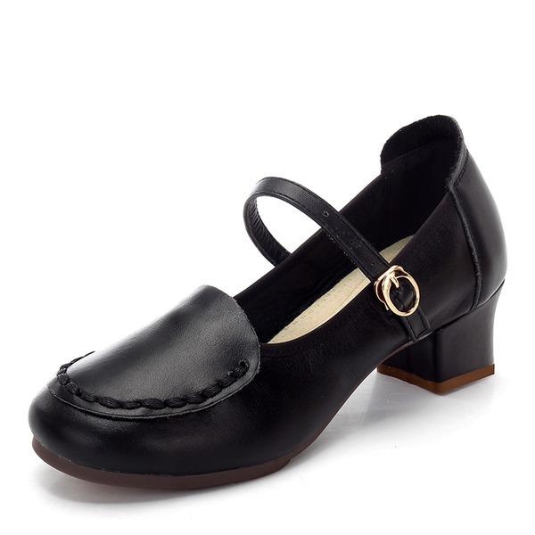 Kvinnor Äkta läder Sandaler Latin Dansskor