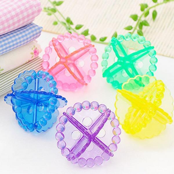 Washing Ball Dryer Balls Keeping Laundry Soft Fresh Washing Machine Drying Fabric Softener (Set of 12)