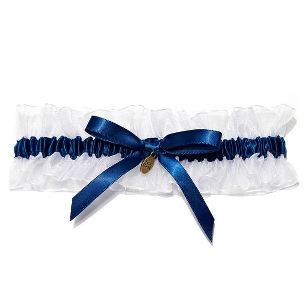 Schön Satiniert mit des Bowknot Hochzeit Strumpfbänder