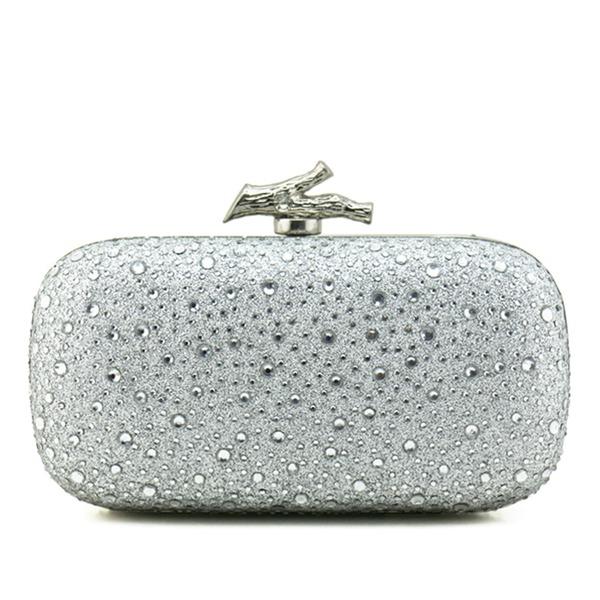 Elegant Funkelnde Glitzer Handtaschen/Schminktäschchen