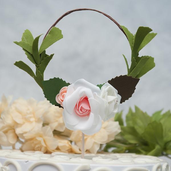 """""""blomst faerie""""/Blomst pu Kage Topper (Sælges i et enkelt stykke)"""
