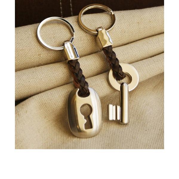 Zink Legierung Schlüsselanhänger (Set mit 2 Stück)