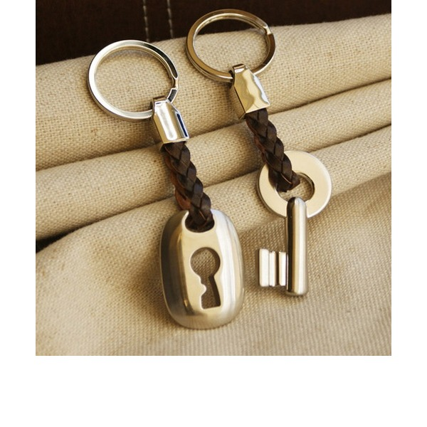 Alliage en zinc Portes-clés (Jeu de 2 pièces)