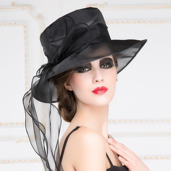 Moda Del organza Cappello