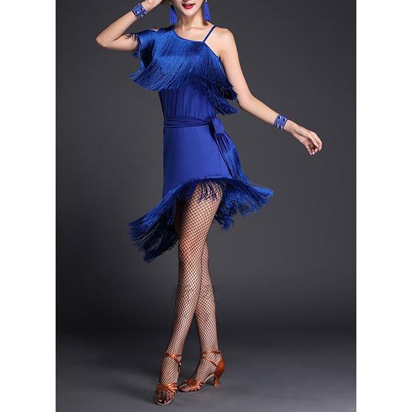 Naisten Tanssivaatteet Polyesteri Latinalainen tanssi Hameet