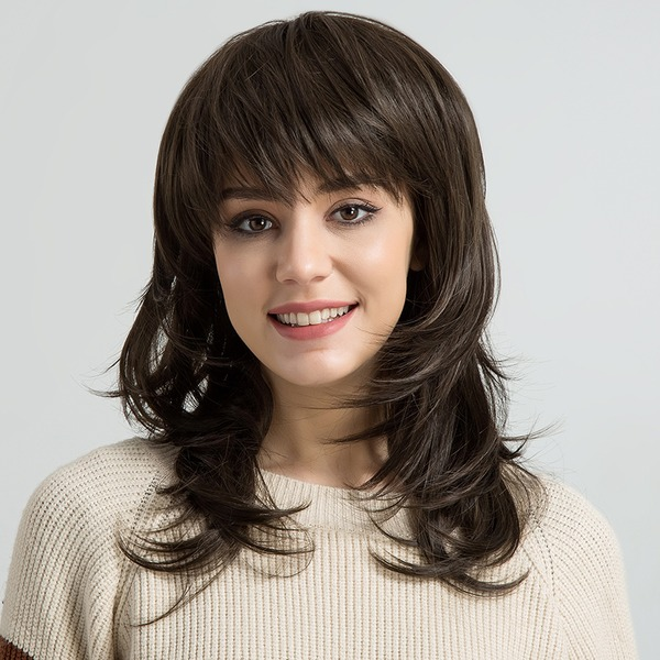 Curly Synthetic Hair Synthetic Wigs 190g