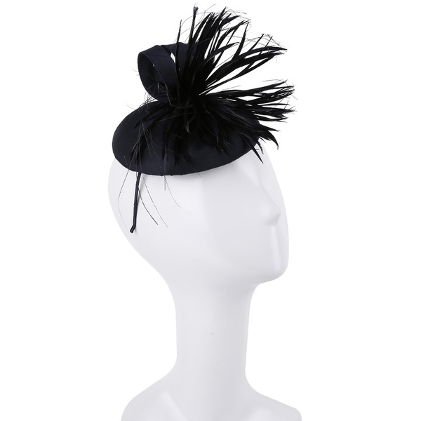 Dames Simple/Gentil/Jolie Feather avec Feather Chapeaux de type fascinator/Kentucky Derby Des Chapeaux/Chapeaux Tea Party
