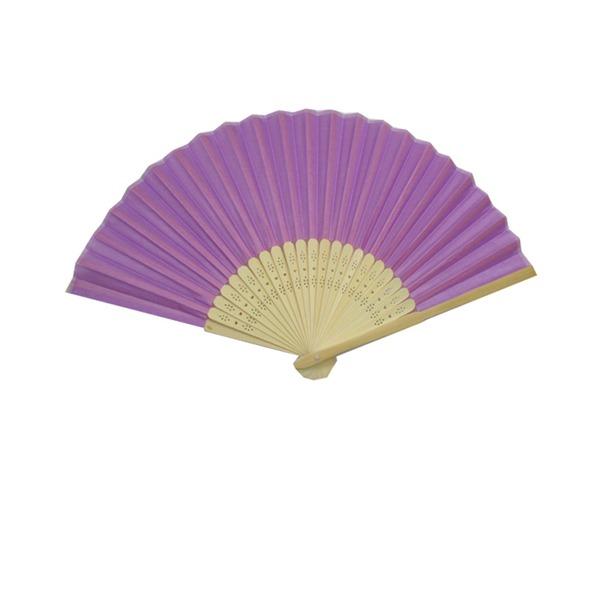 Klasický/Jednobarevná/Elegantní Vintage styl Bambus Ruční ventilátor (Prodáno v jednom)
