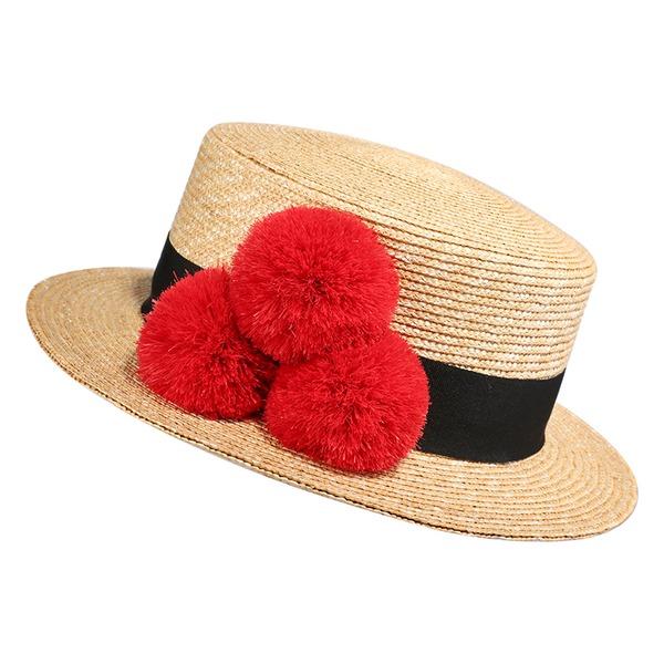 Dames Simple/Gentil/Fantaisie Polyester Chapeaux de plage / soleil