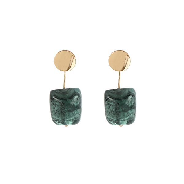 Stylish Alloy Acrylic With Acrylic Women's Fashion Earrings (Sold in a single piece)