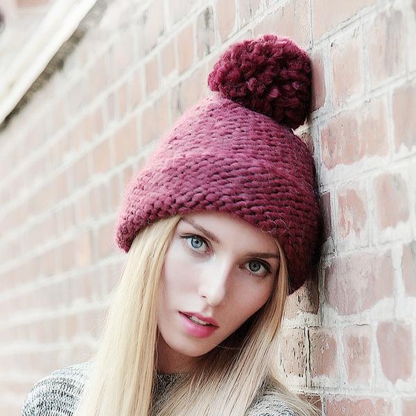 Damer' Glamorösa/Elegant/Enkel/Iögonfallande/Snygga/tappning utformar polyester Diskett Hat