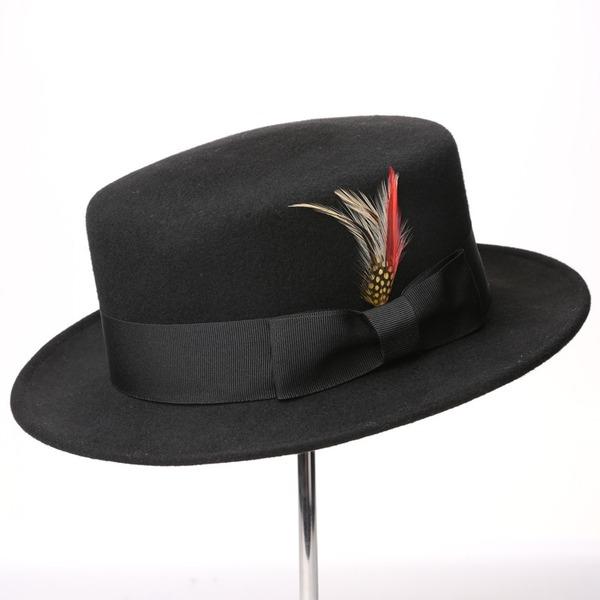 Sonar Naisten Upea/Loistokkaat/Classic Villa jossa Feather/Bowknot Levyke hattu