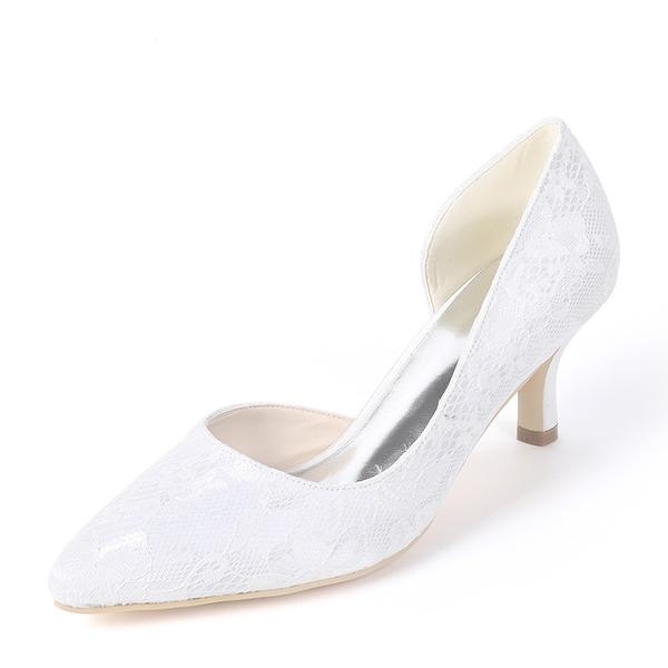 Women's Silk Like Satin Stiletto Heel Pumps