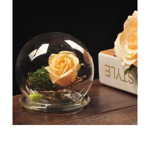 11cm*10cm Attractive Pretty Glass Ornament (Sold in a single piece)