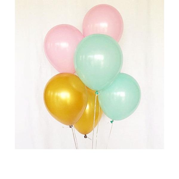 """""""Bunte Ballone"""" Rund Harz (Satz von 20)"""