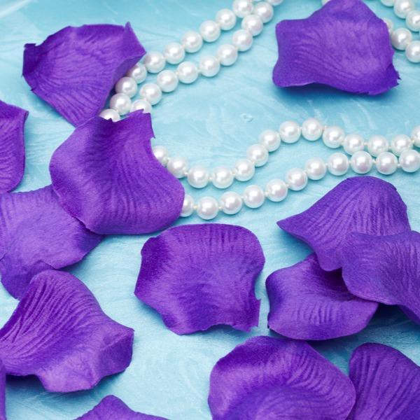 Elegant Purple Rose Petals (Set of 5 packs)