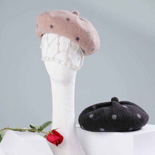 Dames Beau/Élégante/Simple Coton Béret Chapeau