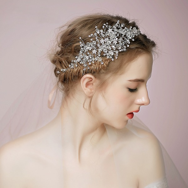 Ladies Beautiful Crystal Headbands With Crystal