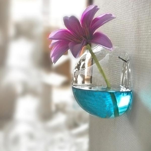 Elegante Hängen Glas Vase