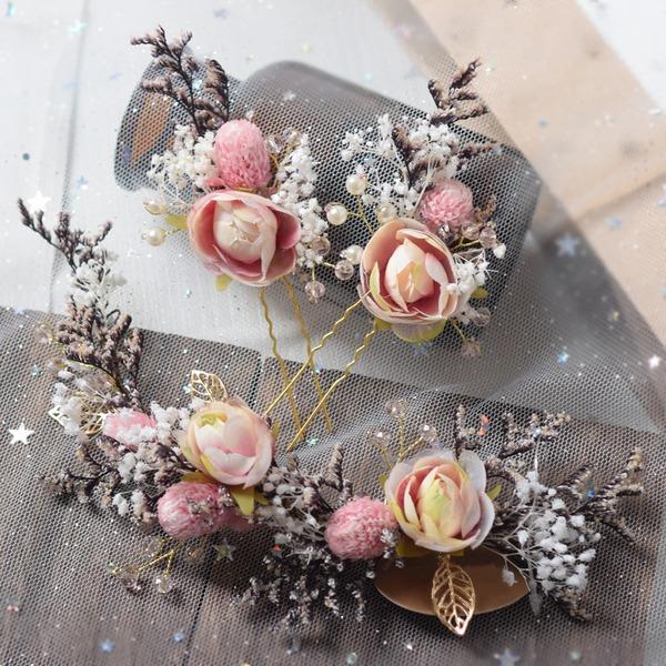 Filles Spécial Fleur en soie épingles à cheveux/Bandeaux