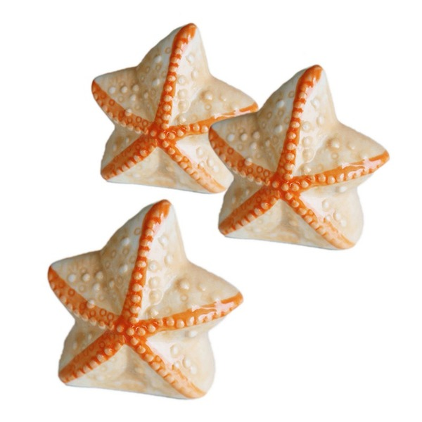Lovely Star Design Ceramic seasoning pot