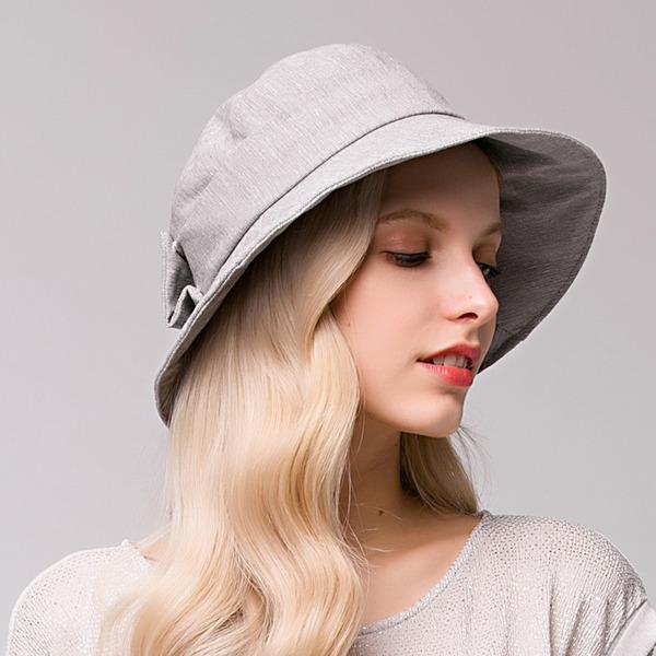 женские Элегантные хлопок Пляжные / солнцезащитные шлемы