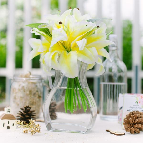 Gorgeous Raso Mazzi da sposa/Mazzi damigella d'onore/Decorazioni/Fiori de Tavolo de Matrimonio