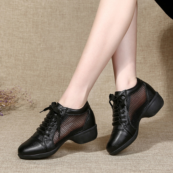 Women's Leatherette Sneakers Modern Jazz Sneakers Dance Shoes
