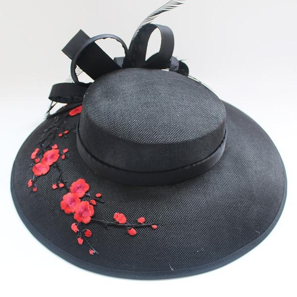 Dames Coton Chapeaux de type fascinator