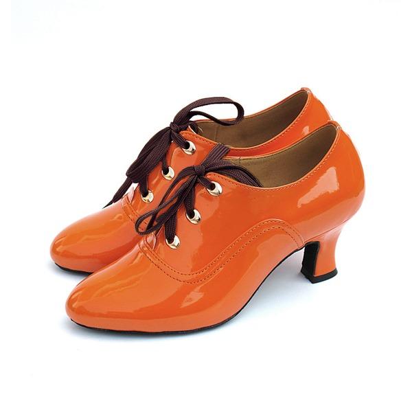 Donna Similpelle Tacchi Stiletto Swing Scarpe da ballo