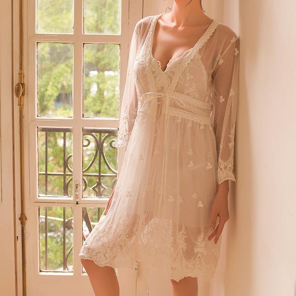 Lace Classic Feminine Sleepwear Sets