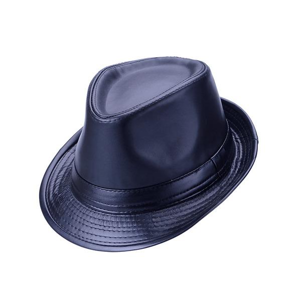 Men's Hottest Pu Fedora Hats/Kentucky Derby Hats