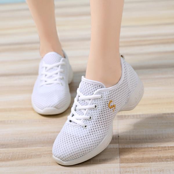 Donna Panno Sneakers stile moderno Jazz Scarpe da Ginnastica Scarpe da ballo