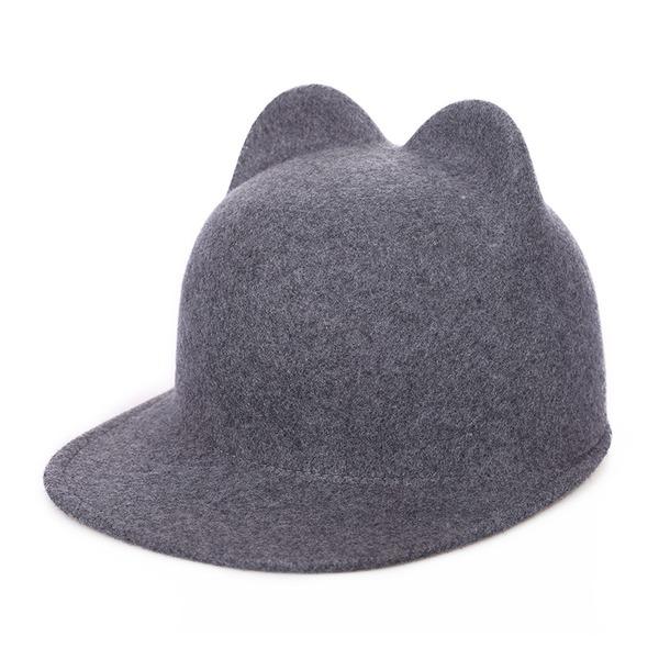 Señoras' Elegante/Exquisito/Estilo de la vendimia Madera Bombín / cloché Sombrero