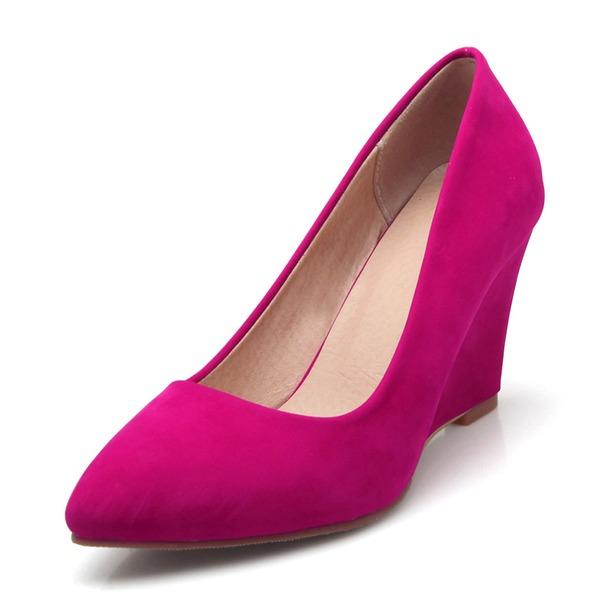 Kvinnor Mocka Kilklack Kilar med Andra skor