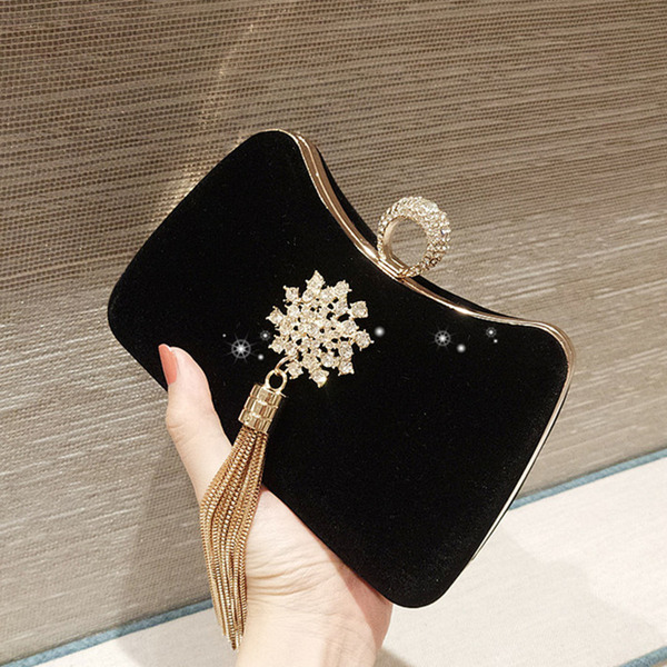 Elegant/Charming Velvet Clutches/Evening Bags