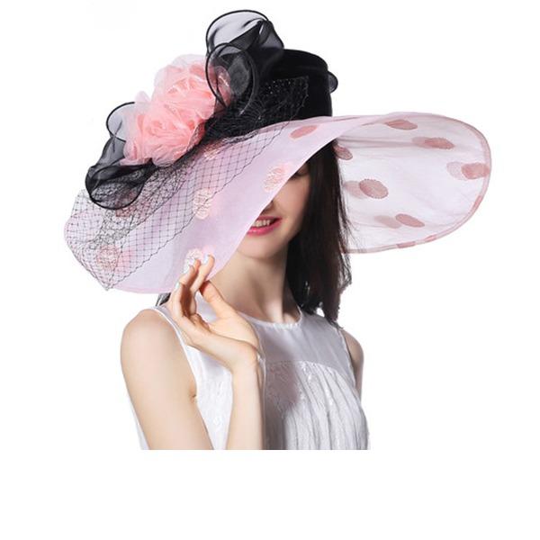 Signore Bella/Moda/Affascinante/Elegante/Unico/Incredibile/Occhi-cattura/Fascino/Fantasia/Romantico/stile vintage con Fiore Beach / Sun Cappelli