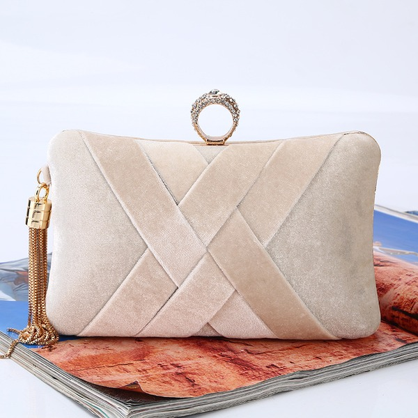 Elegant Flannelette Material Clutches