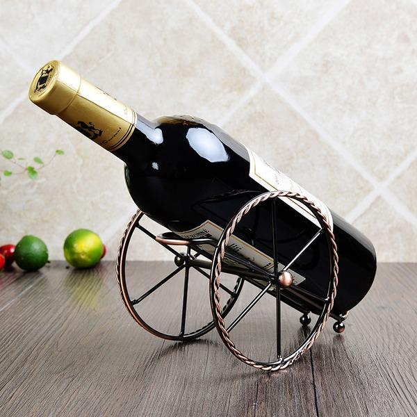Fort Barbette Shape Stainless Steel/Plating Bottle Holder / Wine Rack