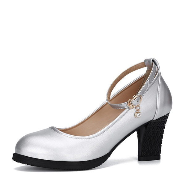 Women's Microfiber Leather Pumps Practice Character Shoes Dance Shoes
