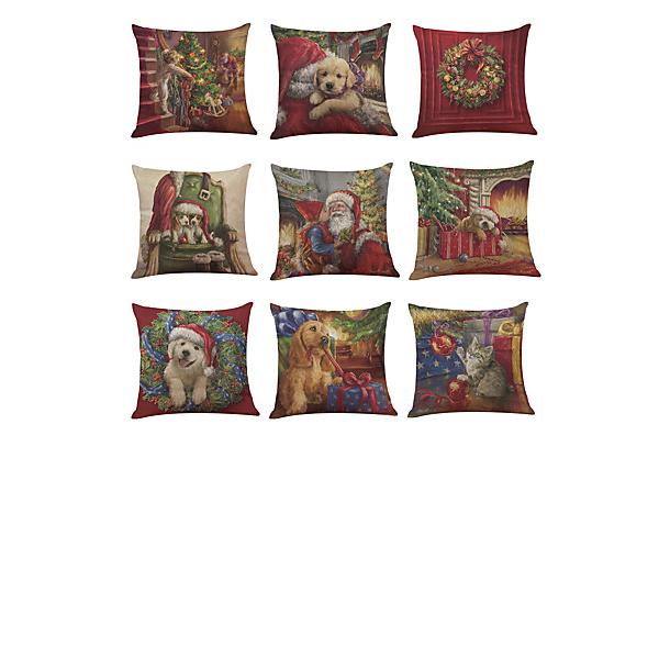 Traditionella / Classic Tecknad serie Linné obliečky na vankúše