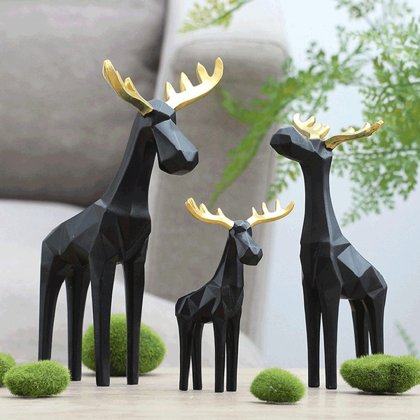 Lovely Resin Decorative Accessories/Toys (Set of 3)