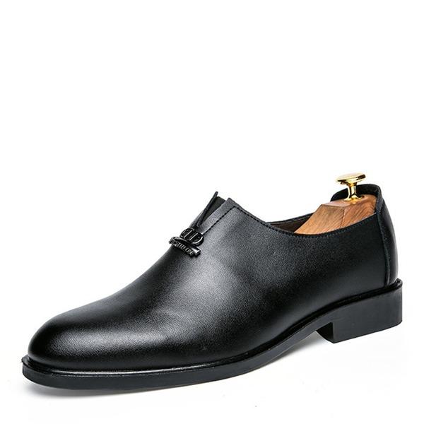 Män Microfiber läder Fritids Loafers för män